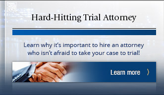 Learn why it's important to hire an attorney who isn't afraid to take your case to trial