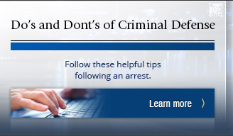 Learn what to do following an arrest